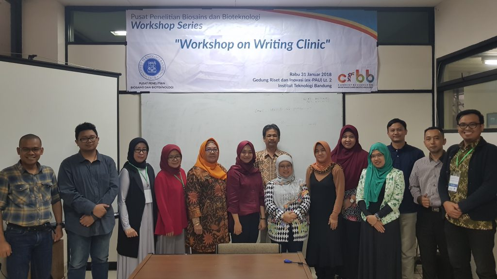 Workshop on Writing Clinic - 31 January 2018